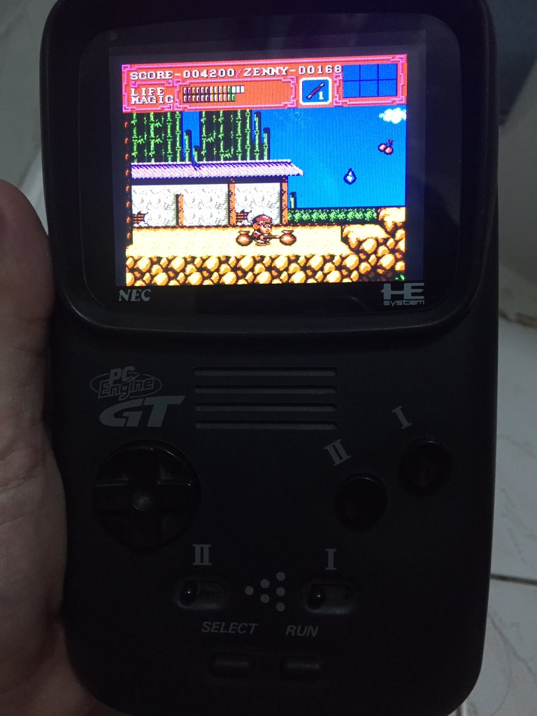 raspberry pi pc engine emulator
