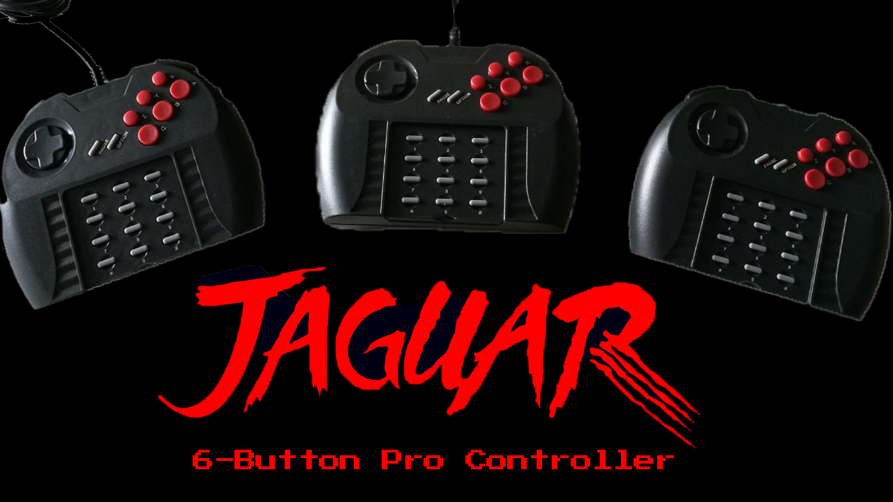 Atari Jaguar Pro Controllers – New Production Update