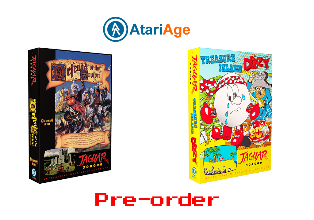 Two New Jaguar Games Available For Pre-Order