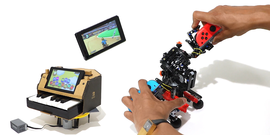 Nintendo Labo Enhanced with Lego's