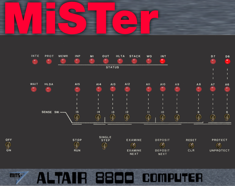 MiSTer Altair 8800 Core Released