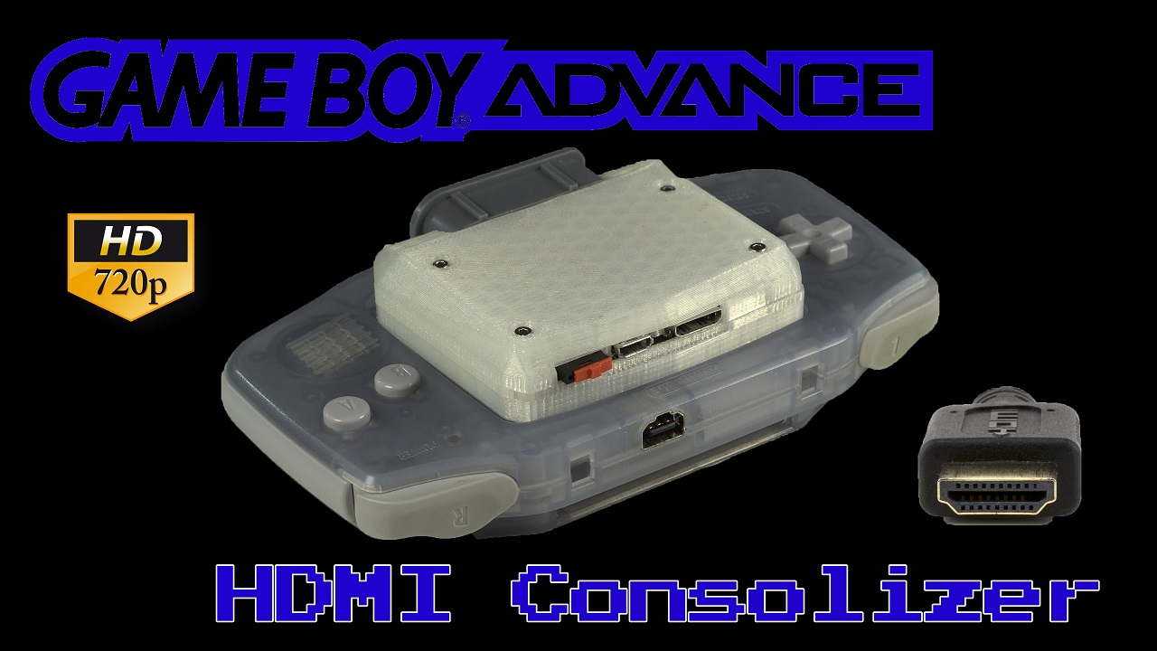 GBA Consolizer: An HDMI 720p GBA Kit