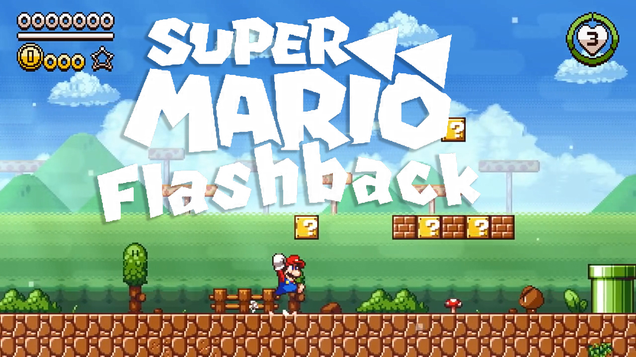 Fan-Made Super Mario Flashback | RetroRGB