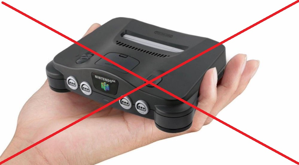 No N64 Mini Being Planned