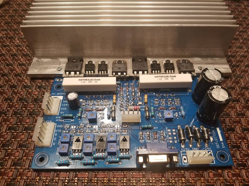 Vector monitor XY Kit