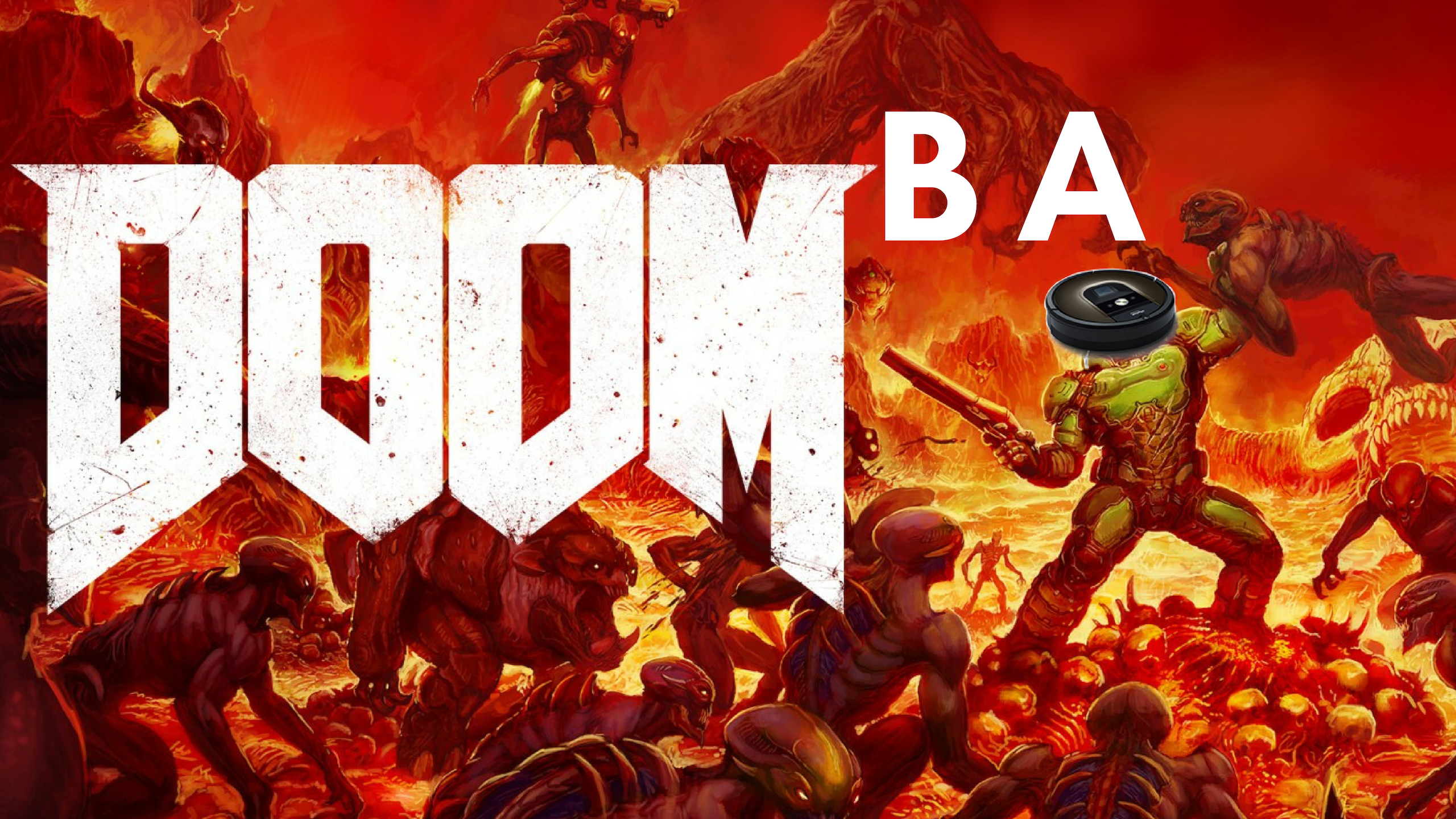 Roomba Hack Turns Your Home Into a DOOM Level
