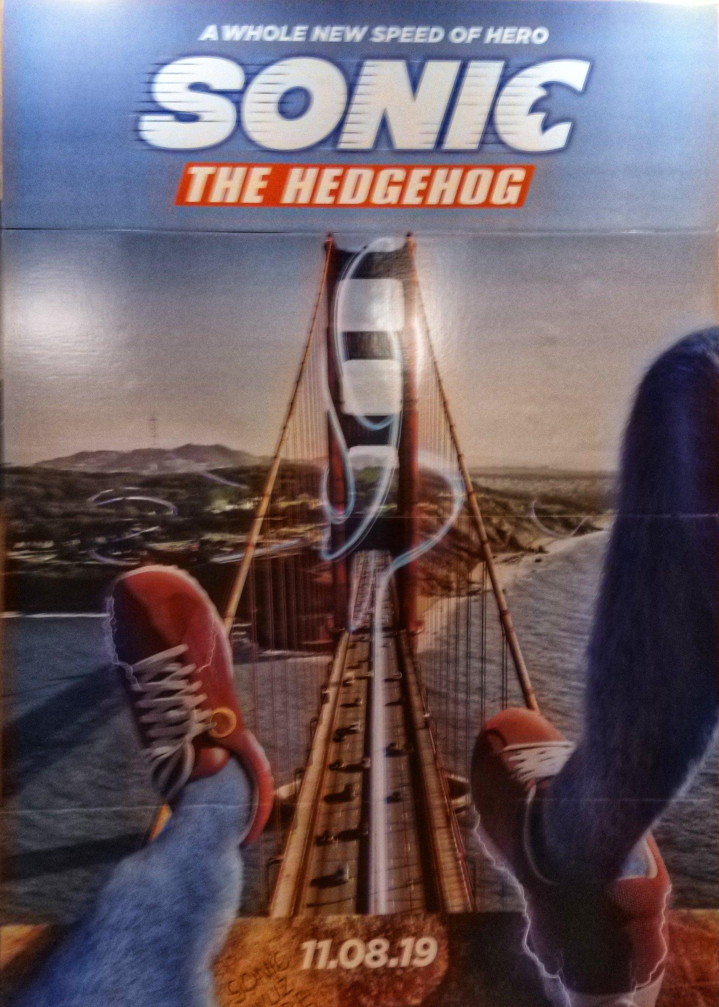Disturbing New Sonic Movie Poster Spotted Retrorgb