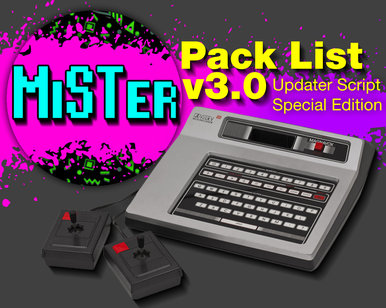 MiSTer Pack List v3 0 Released – Updater Script Special