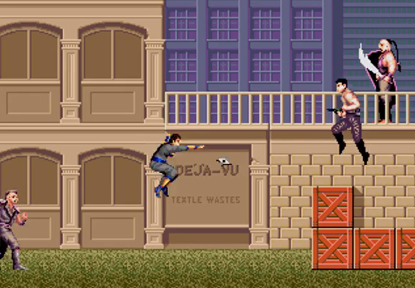 Sega Genesis Shinobi Arcade Port Gets Downloadable DEMO ROM