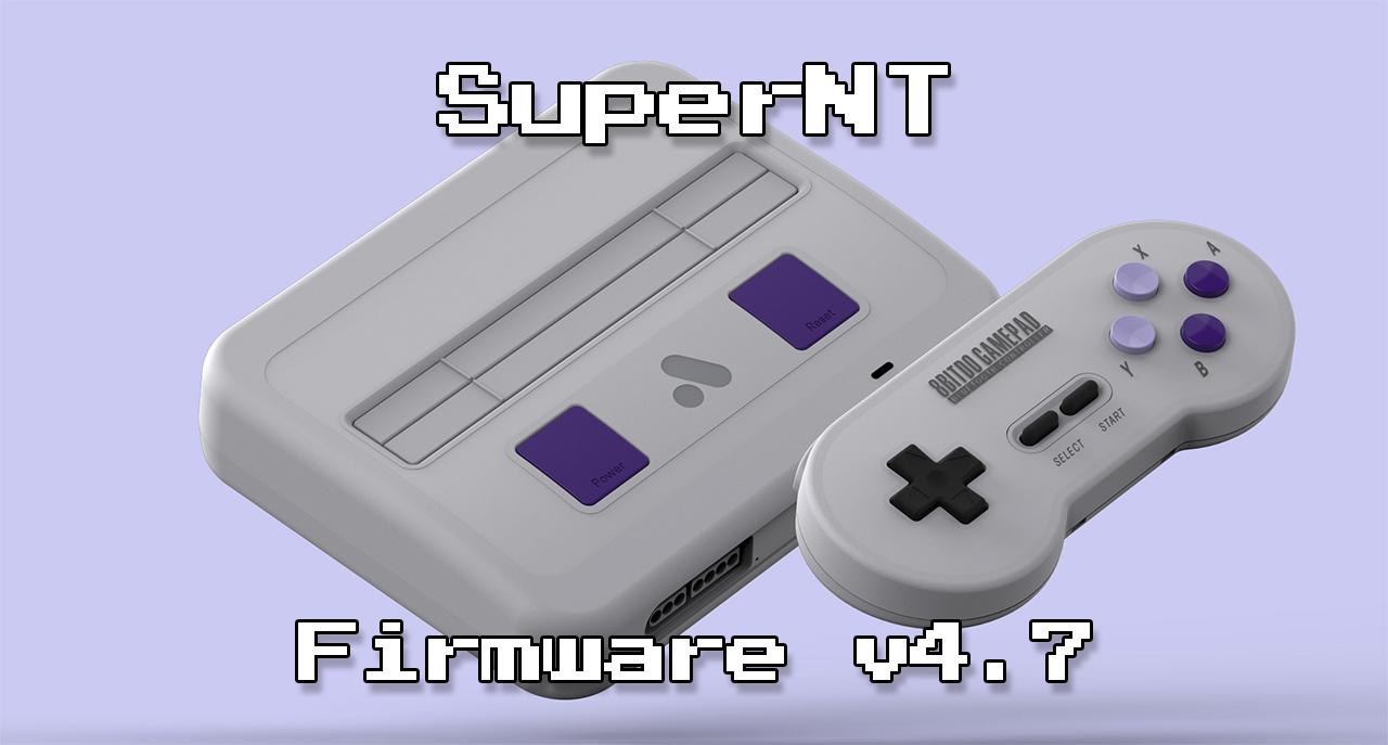 SuperNT Firmware Update | RetroRGB