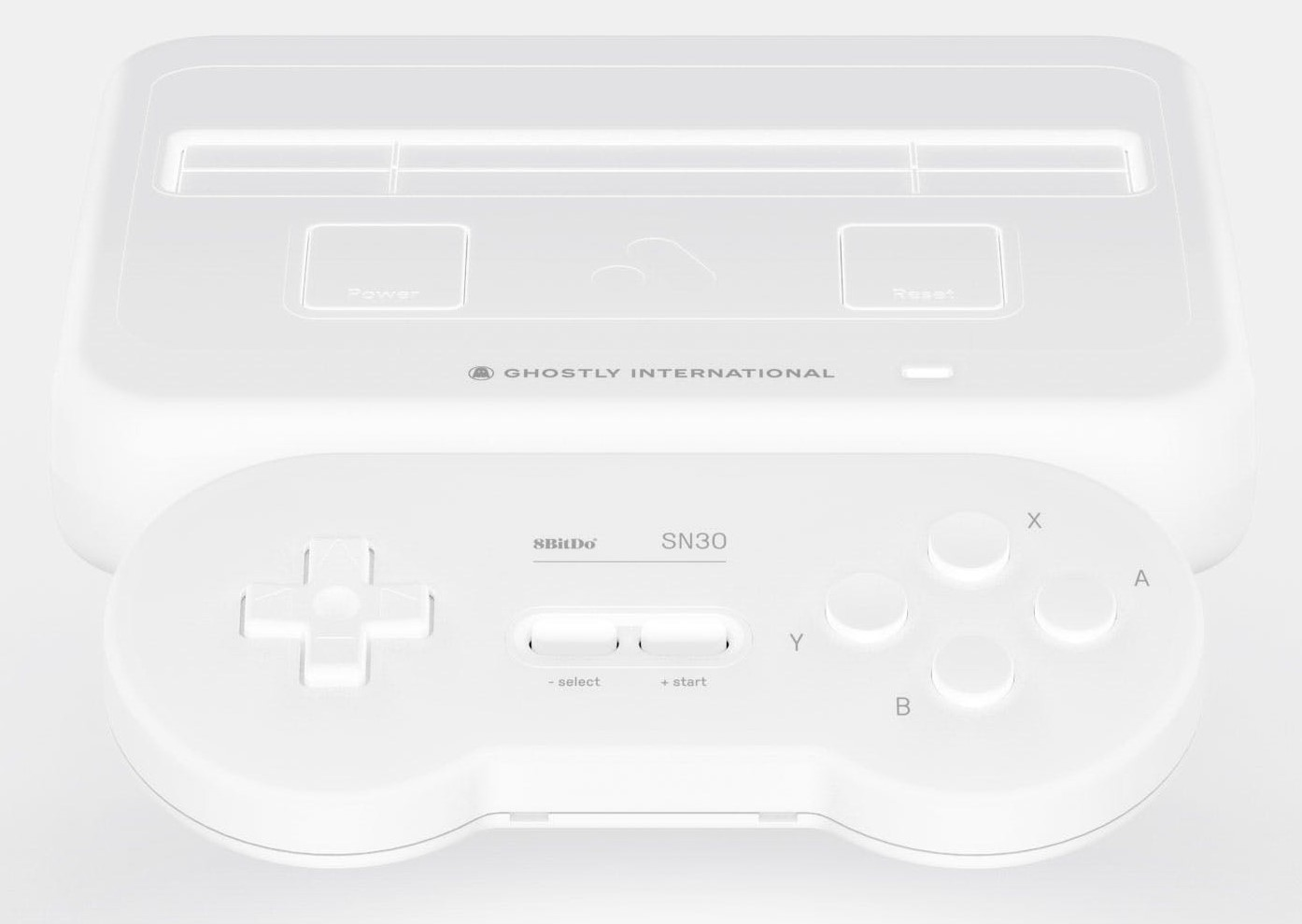 Analogue X Ghostly Super Nt