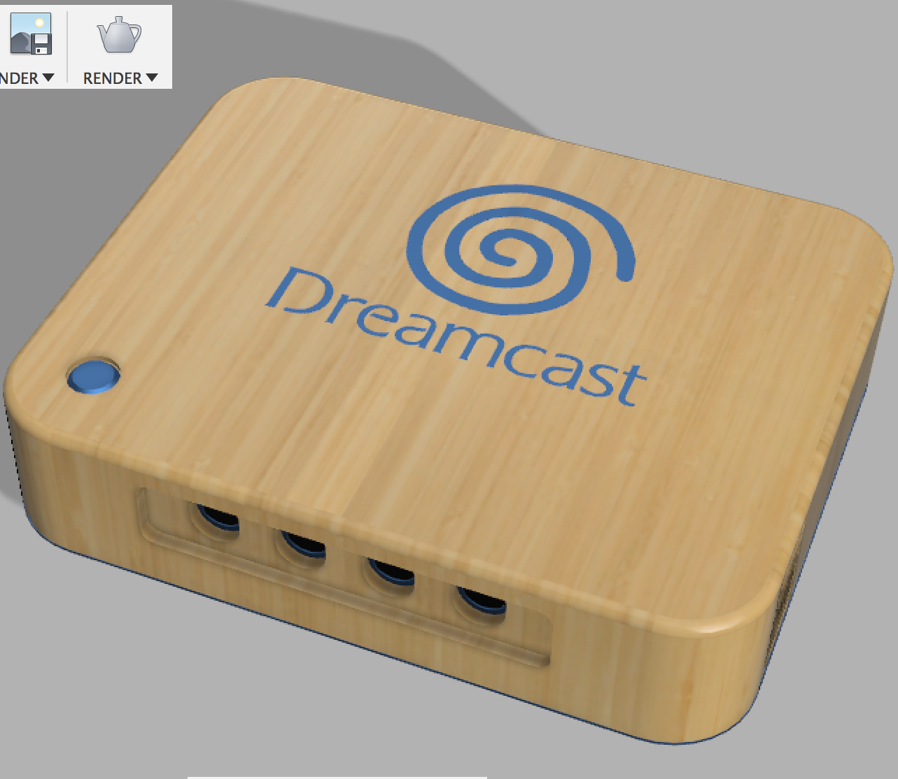 Dreamcast: Metal & Wood Case Shells
