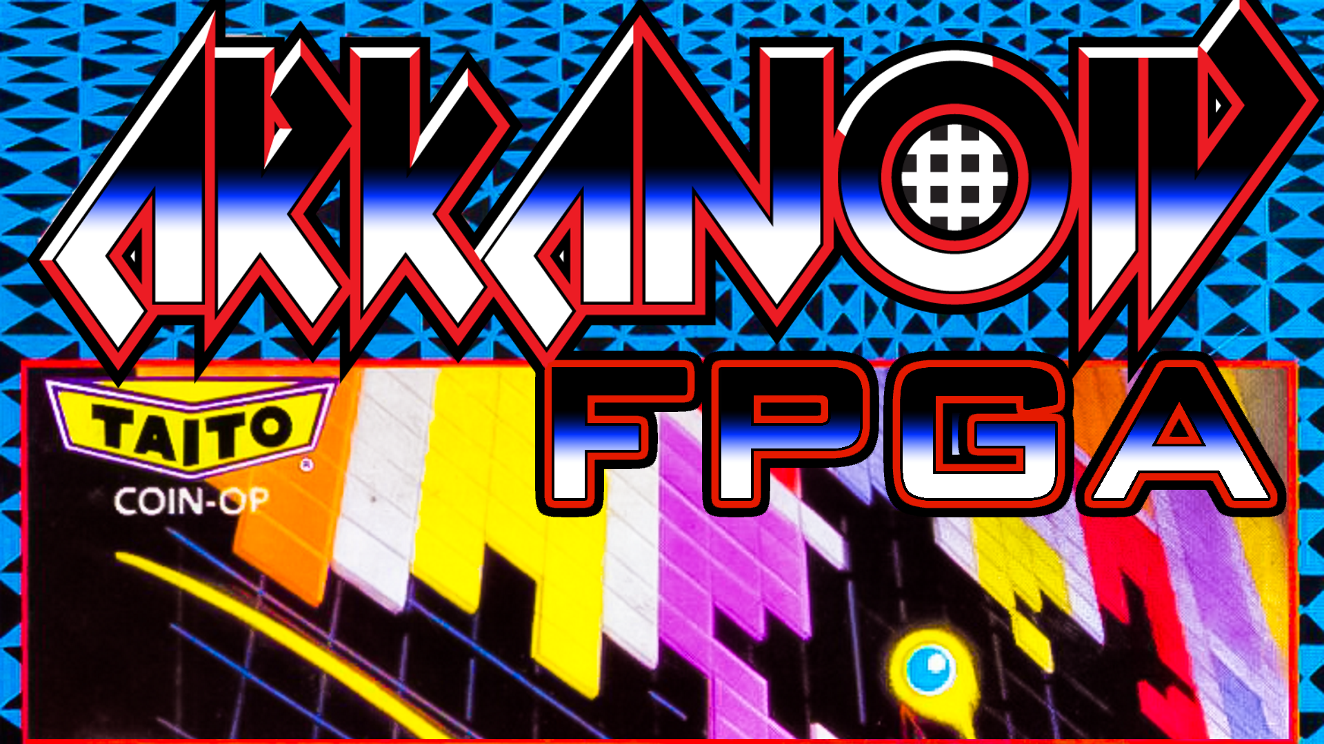 Arkanoid Arcade FPGA MiSTer Core Announced