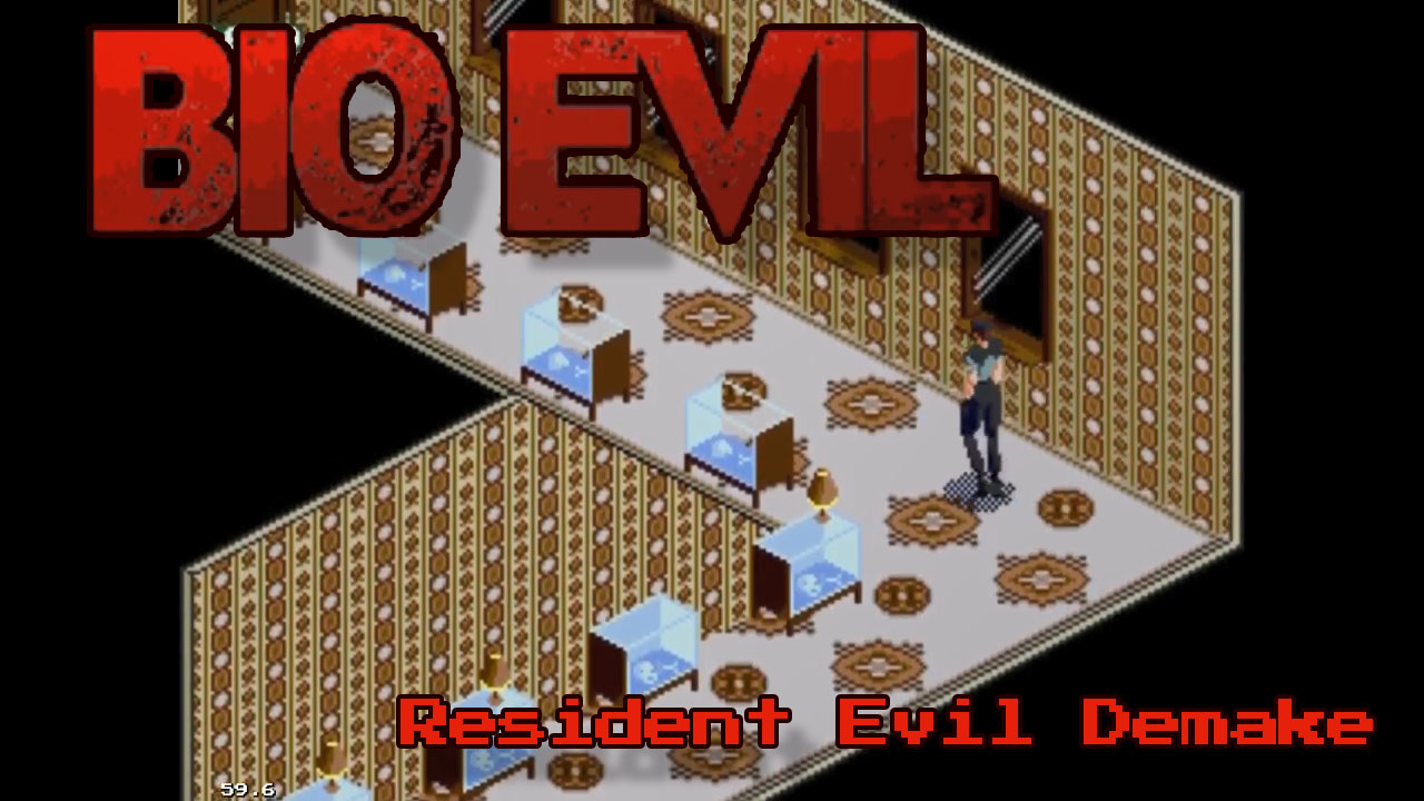 Resident Evil Genesis 'demake'