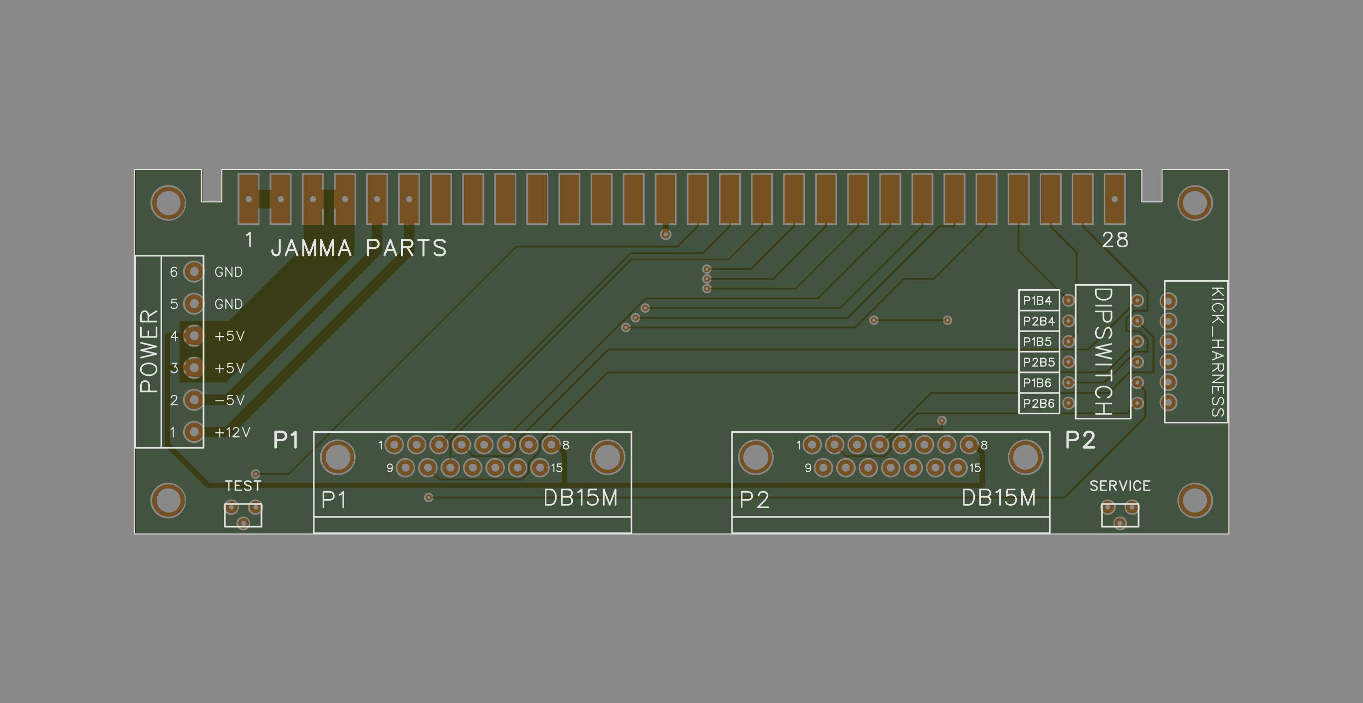 CPS2/CPS3 Digital AV Interface – Helper PCB