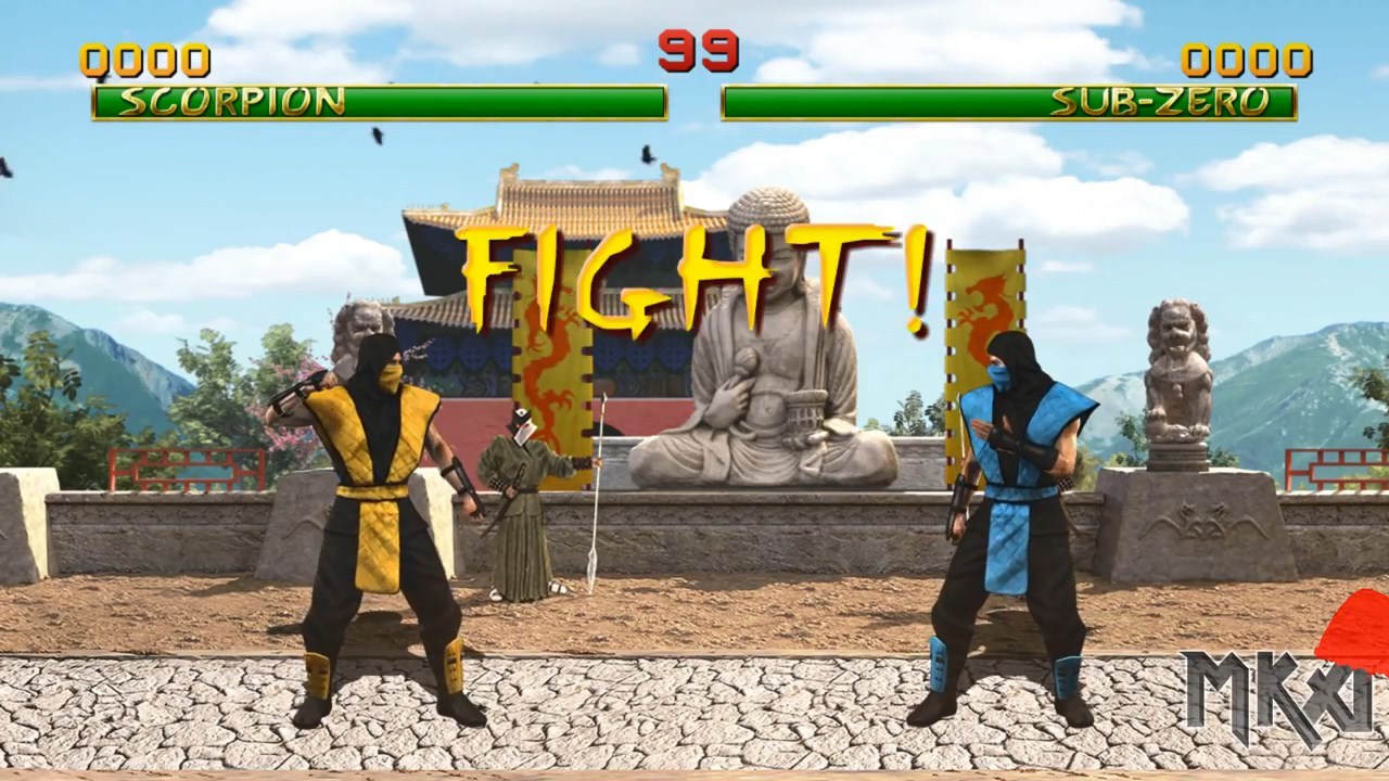 Prototype Mortal Kombat 1 HD Remake Released | RetroRGB