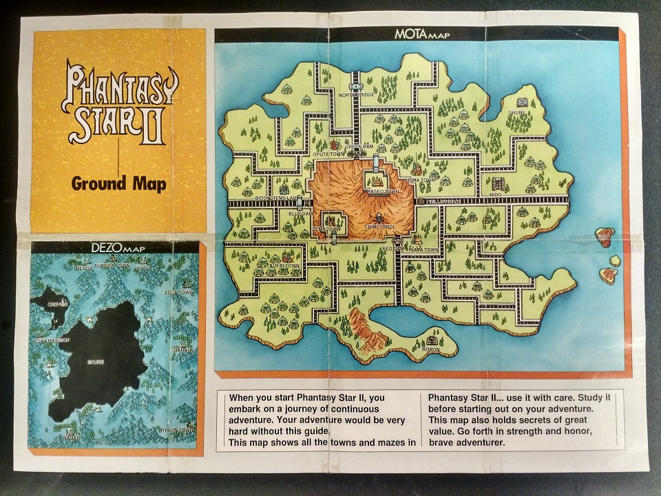 Phantasy Star 4 World Map.Phantasy Star Map Restoration Retrorgb