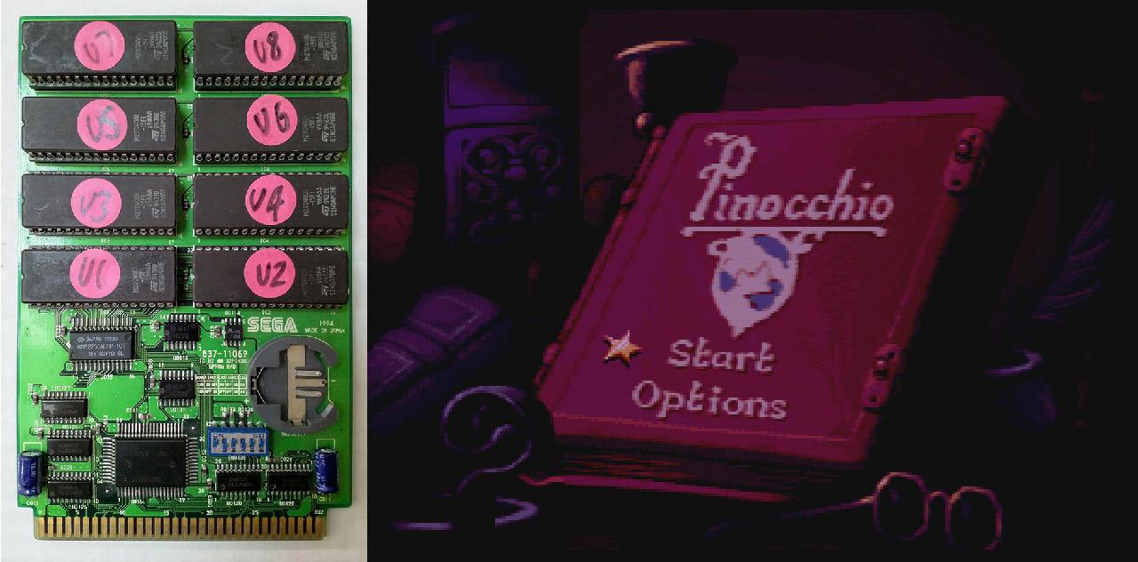 Pinocchio 32x Prototype Found | RetroRGB