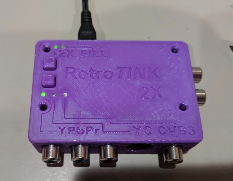 RetroTINK 2x 3D Printed Case by collingall