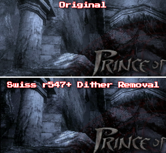 Swiss Dither Removal Option Added