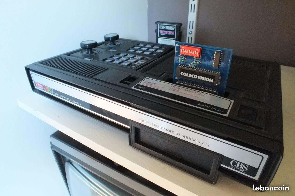 New Multi Carts for GX-4000, Vectrex and ColecoVision