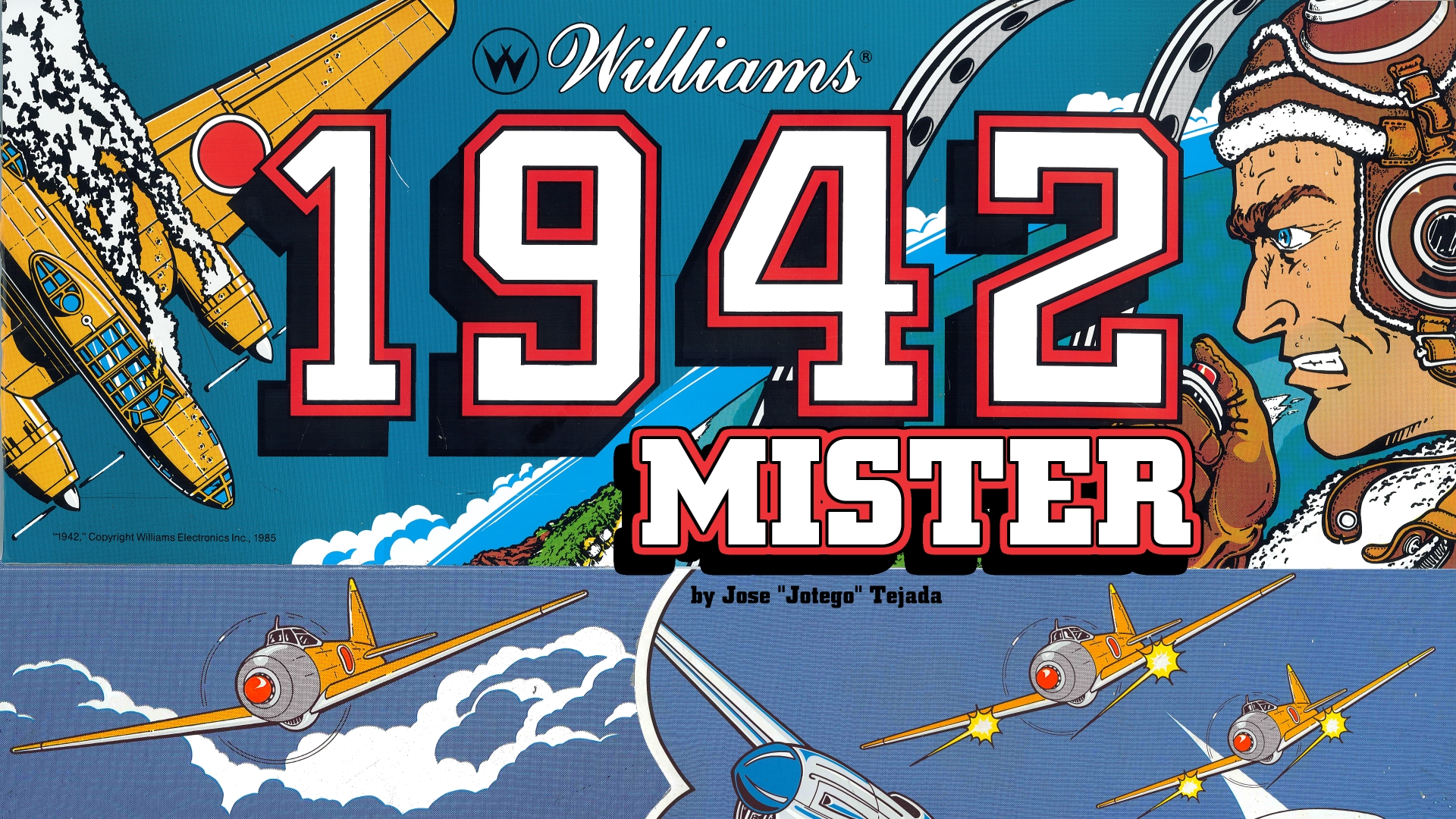 1942 Arcade FPGA MiSTer & MiST Cores by Jotego