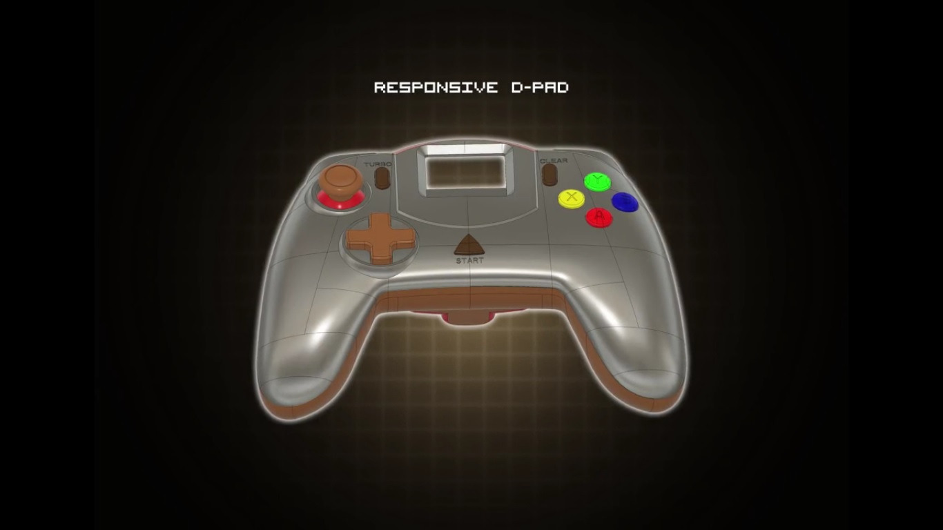 Next Gen Dreamcast controller by Retro Fighters