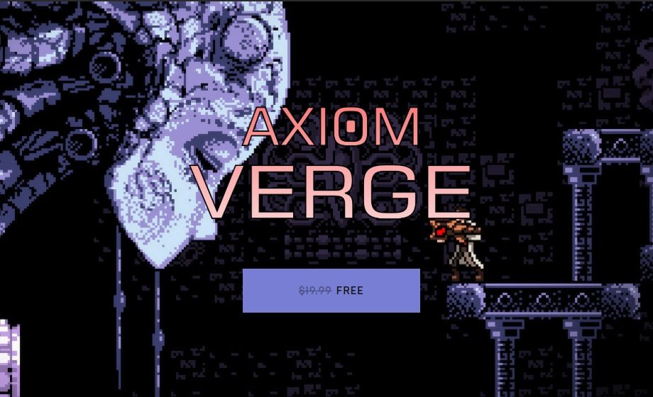 Axiom Verge Free on Epic Games until the 21st