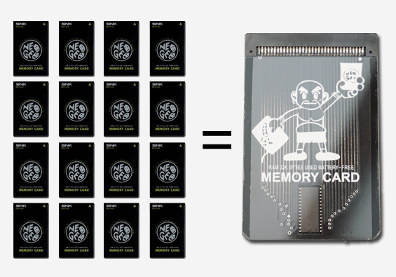 NeoSaveMasta 2019 – Neo Geo AES/MVS Memory Card: Sells-Out Fast!