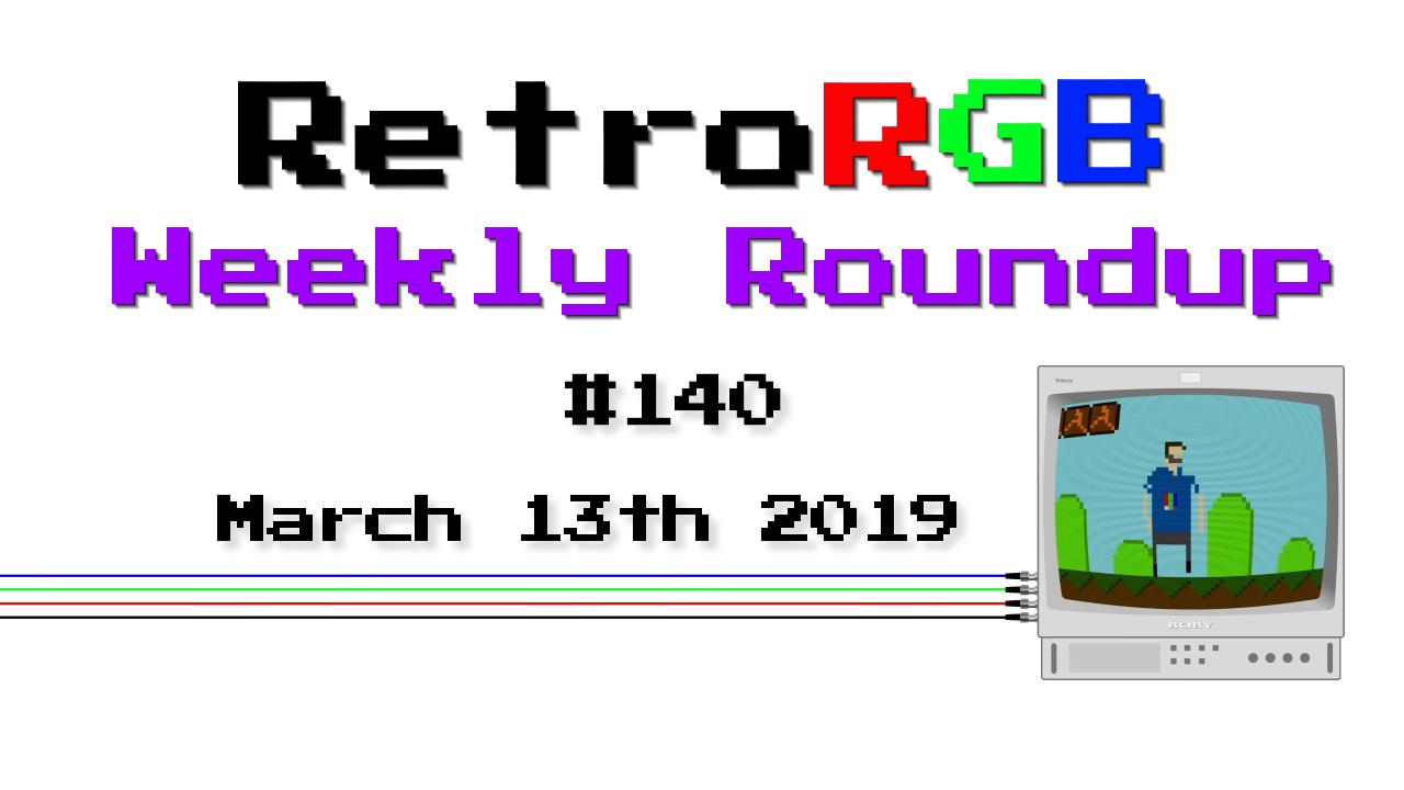Weekly Roundup #140