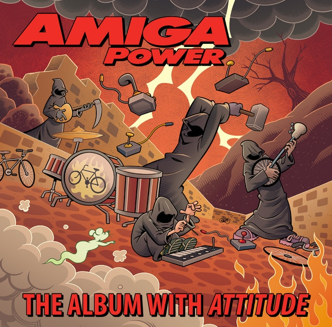 Amiga Power: The Album With Attitude now on Kickstarter