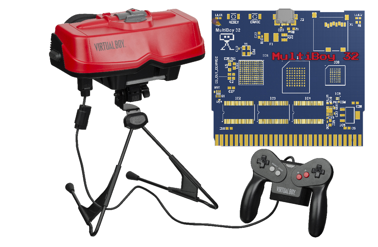VirtualBoy ROM Cart Announced!!!