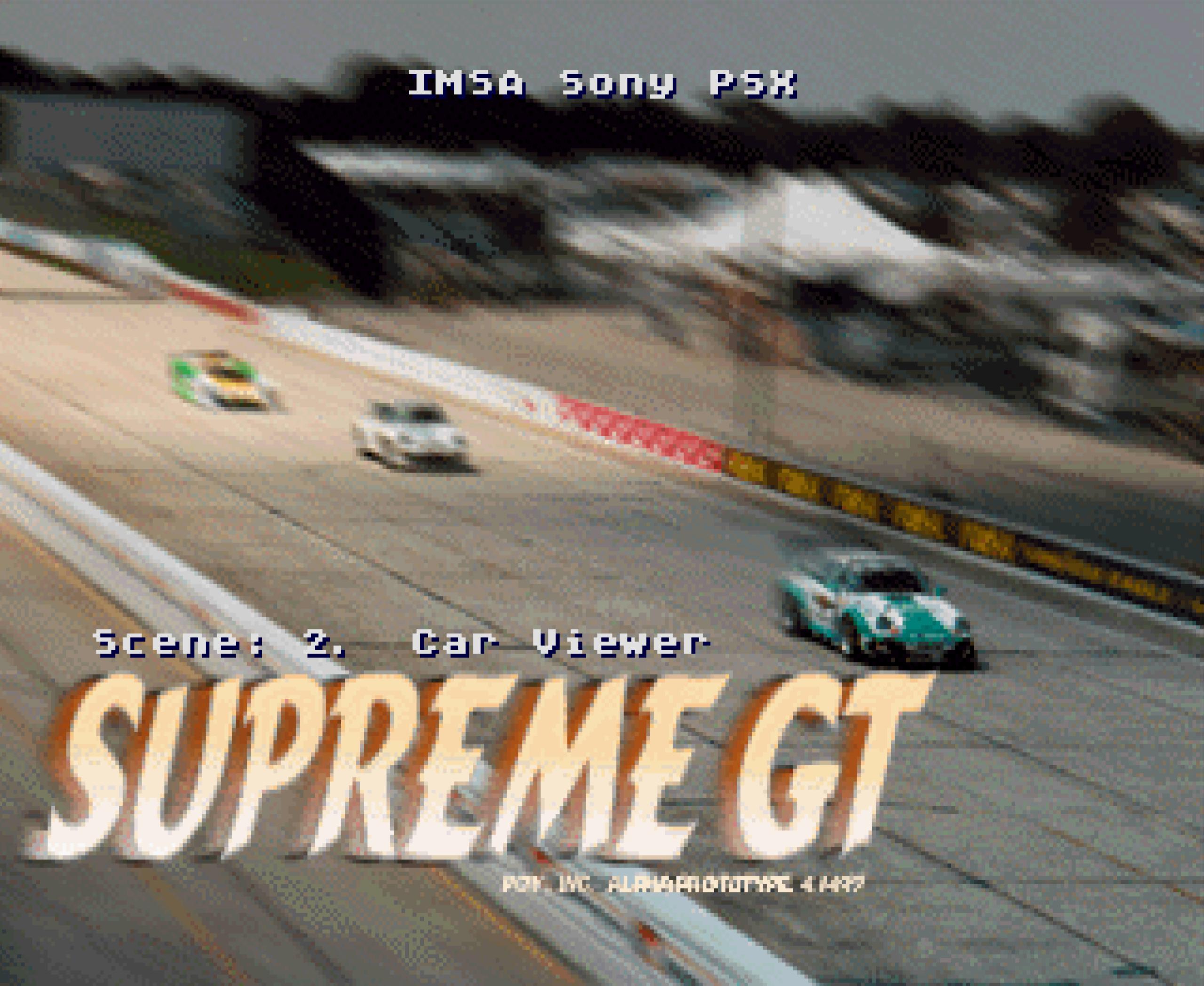 IMSA Sony PSX Supreme GT Alpha | Prototype 4 (Released)