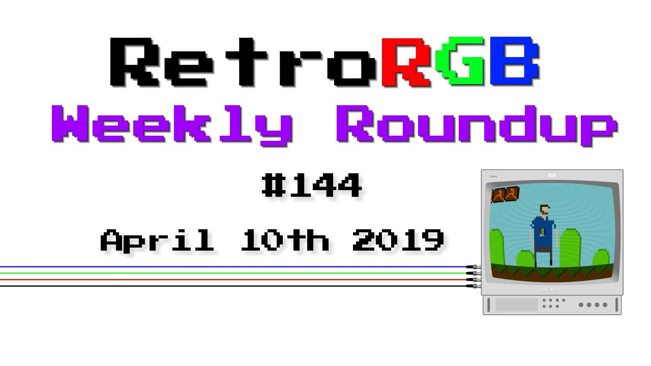 Weekly Roundup #144