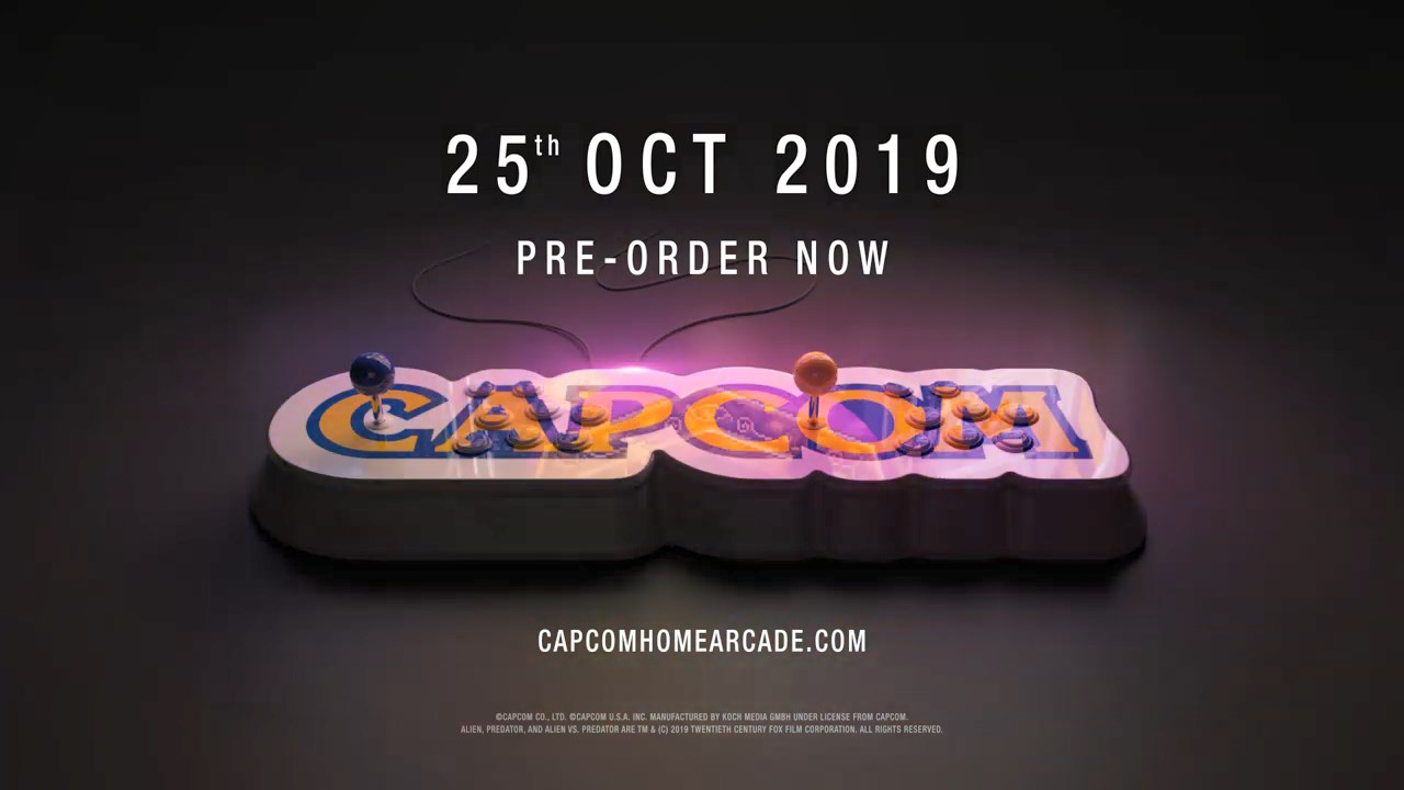 Capcom Announces Home Arcade Stick
