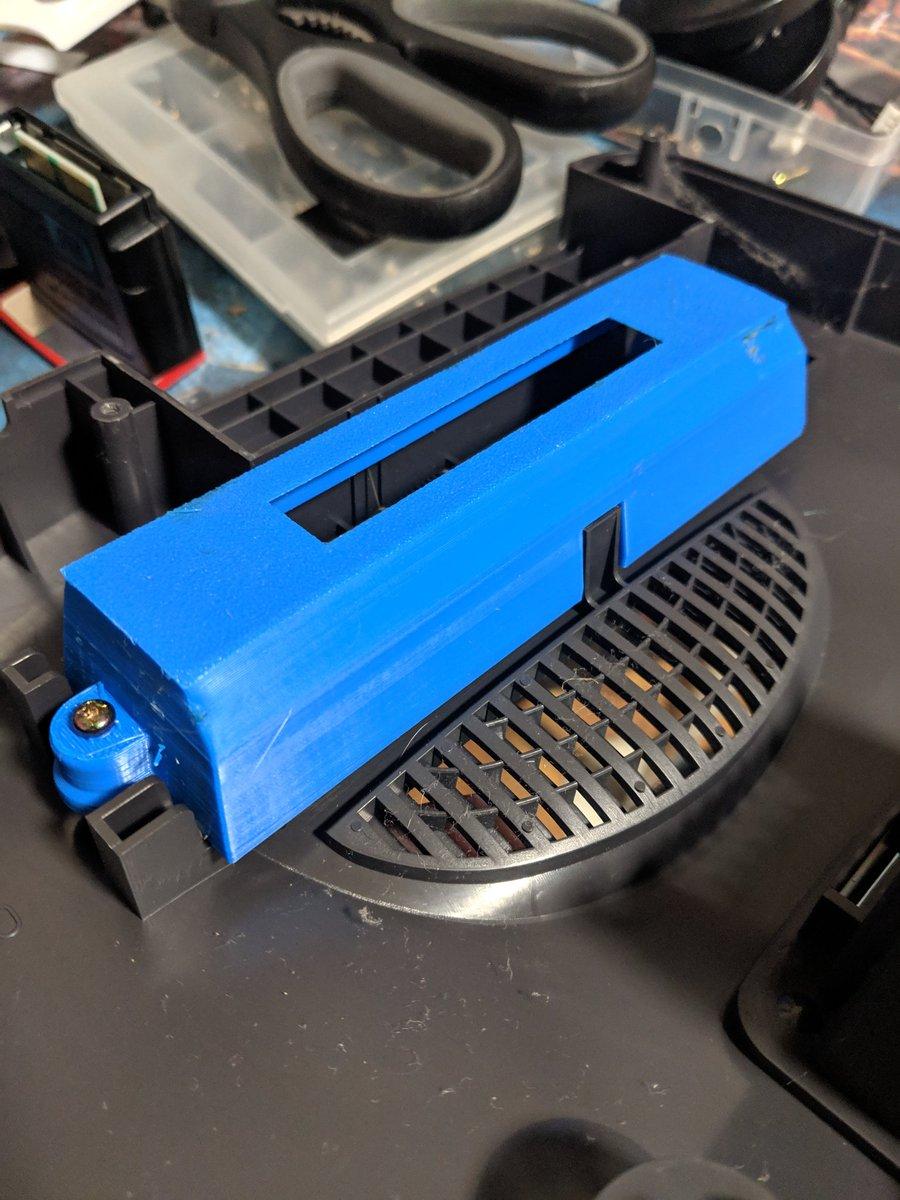 3D printed N64 Region Mod