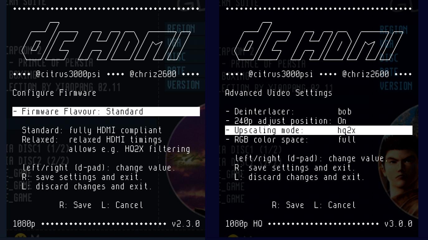 DCHDMI Firmware Split