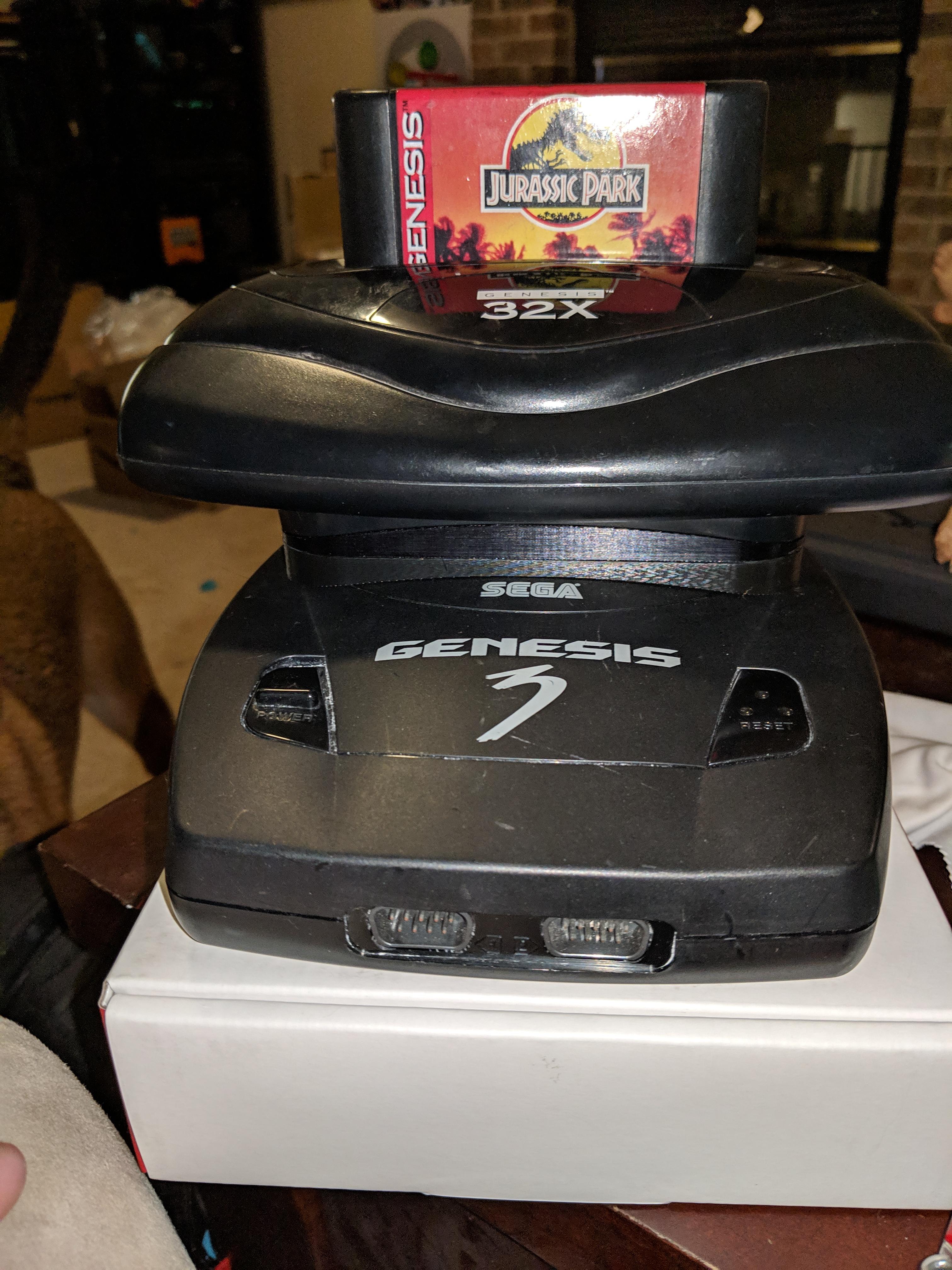 Sega 32x Genesis 3 Riser