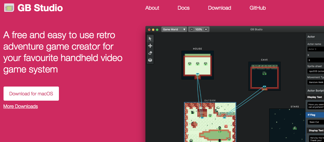 GB Studio Lets YOU create Gameboy Games For Free | RetroRGB