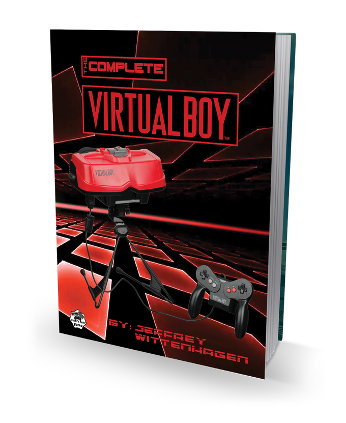The Complete Virtual Boy book kickstarter