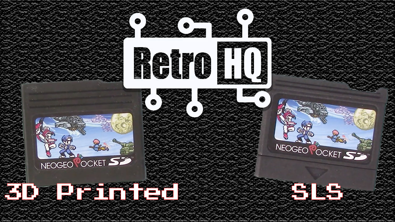 New NeoGeo Pocket SD Cartridge Shells