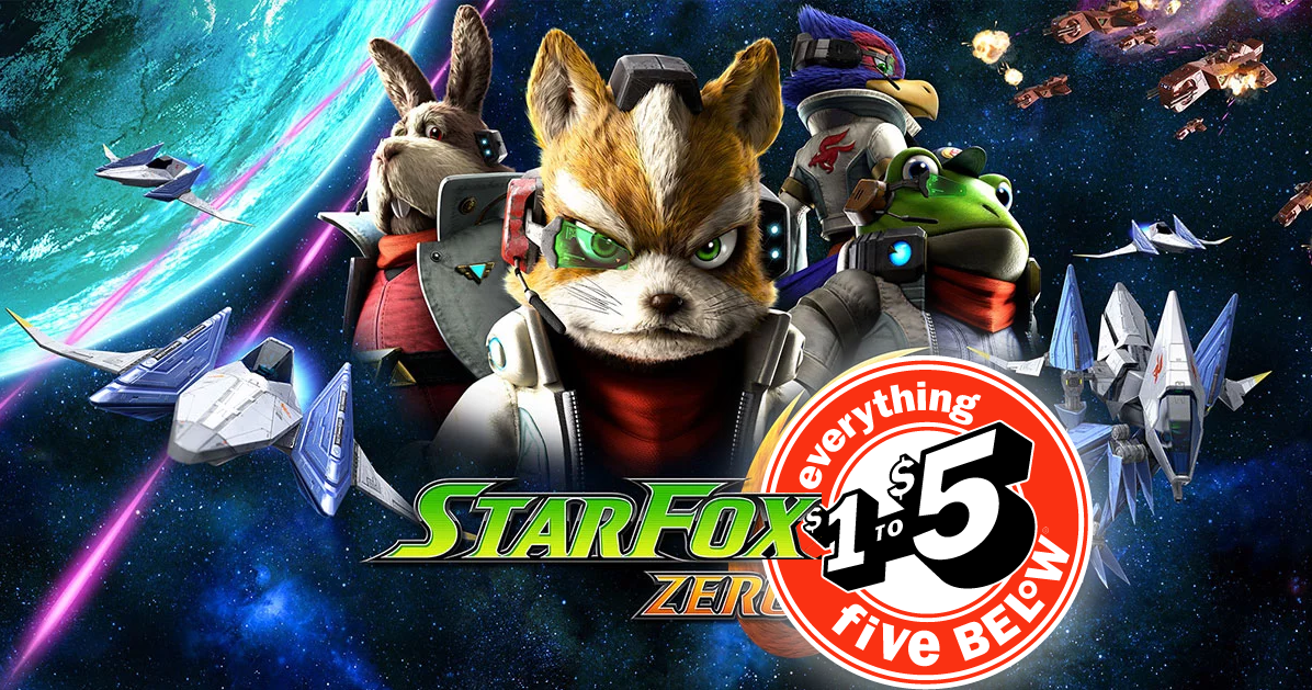 StarFox Zero Shows Up at Five Below Stores