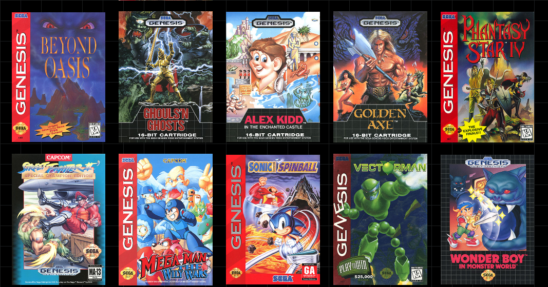 Sega Just Announced its Next TEN Games for the Upcoming Genesis Mini