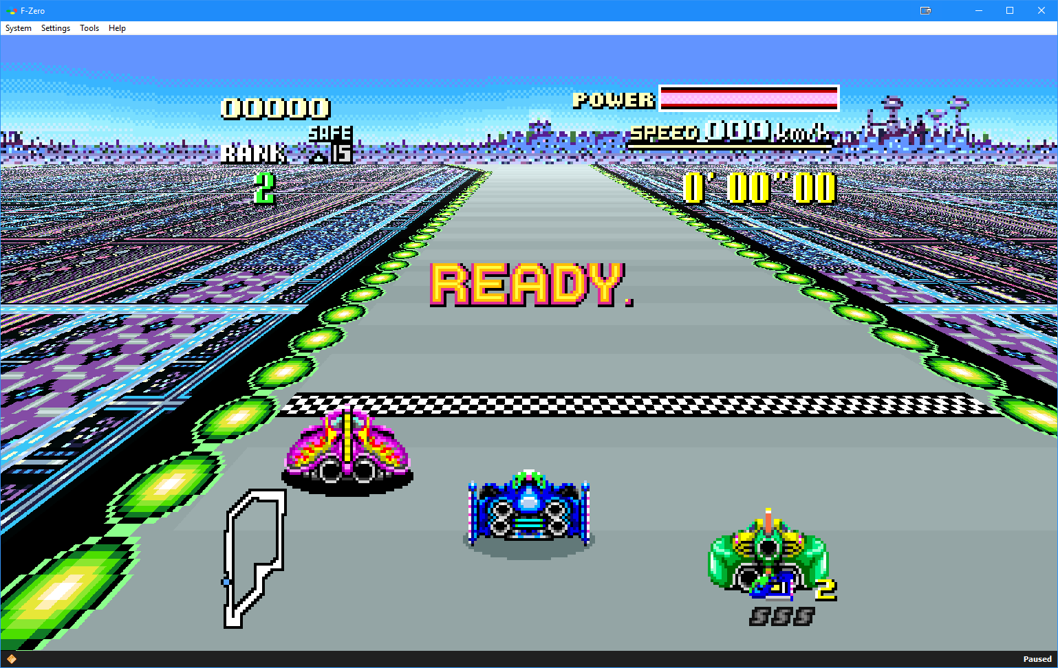 Widescreen HD Mode 7 Support for BSNES 107.3