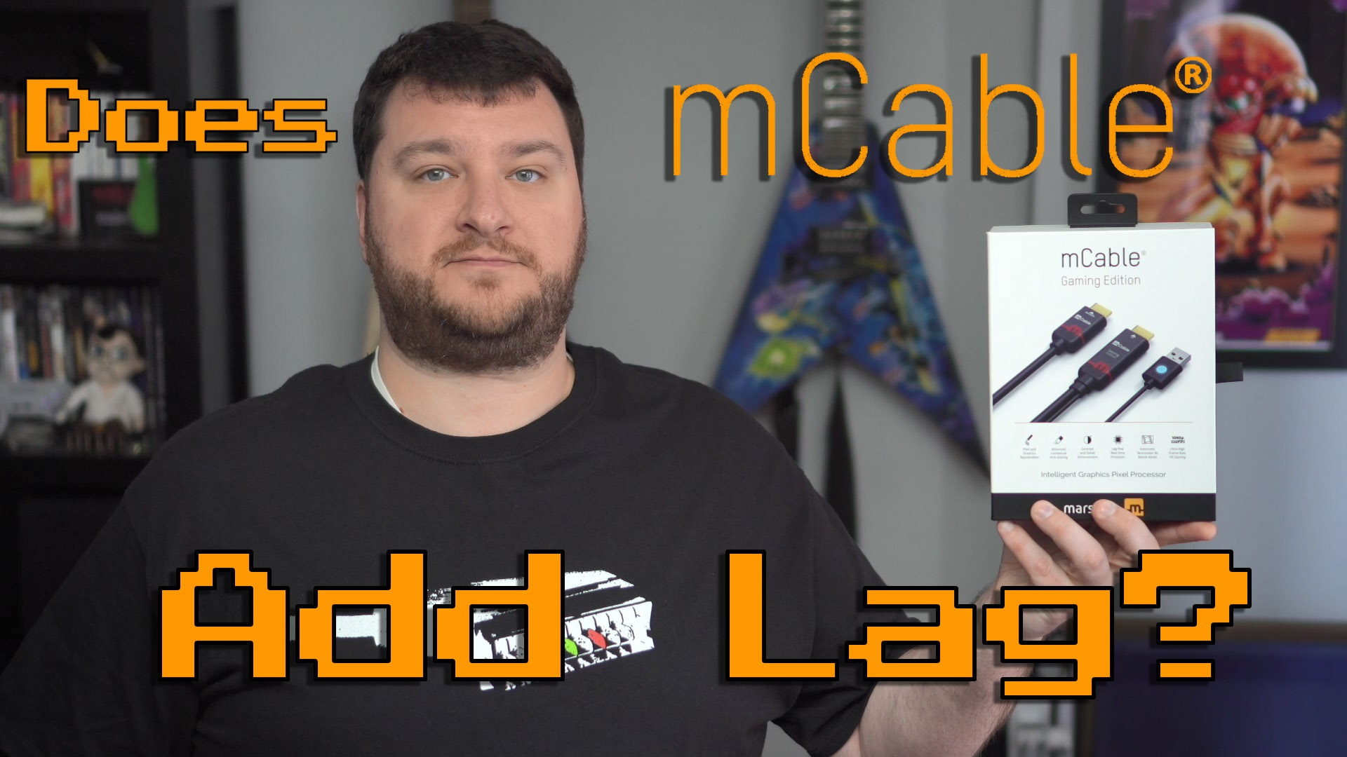 mCable Gaming Edition Lag Tests