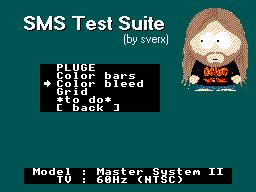 SMS Test Suite: Work in Progress