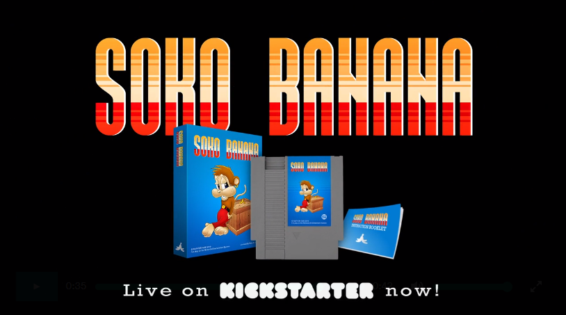 Soko Bananas: A New NES Game Just Made its Goal on Kickstarter