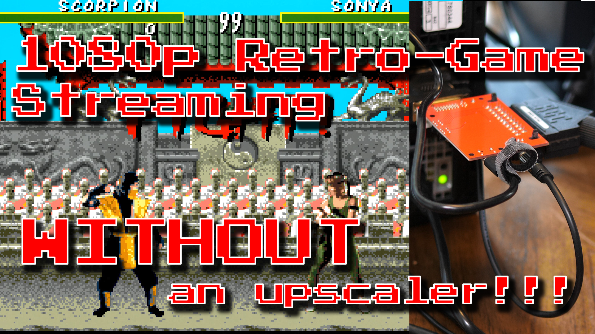 1080p Retro Streaming WITHOUT an Upscaler!
