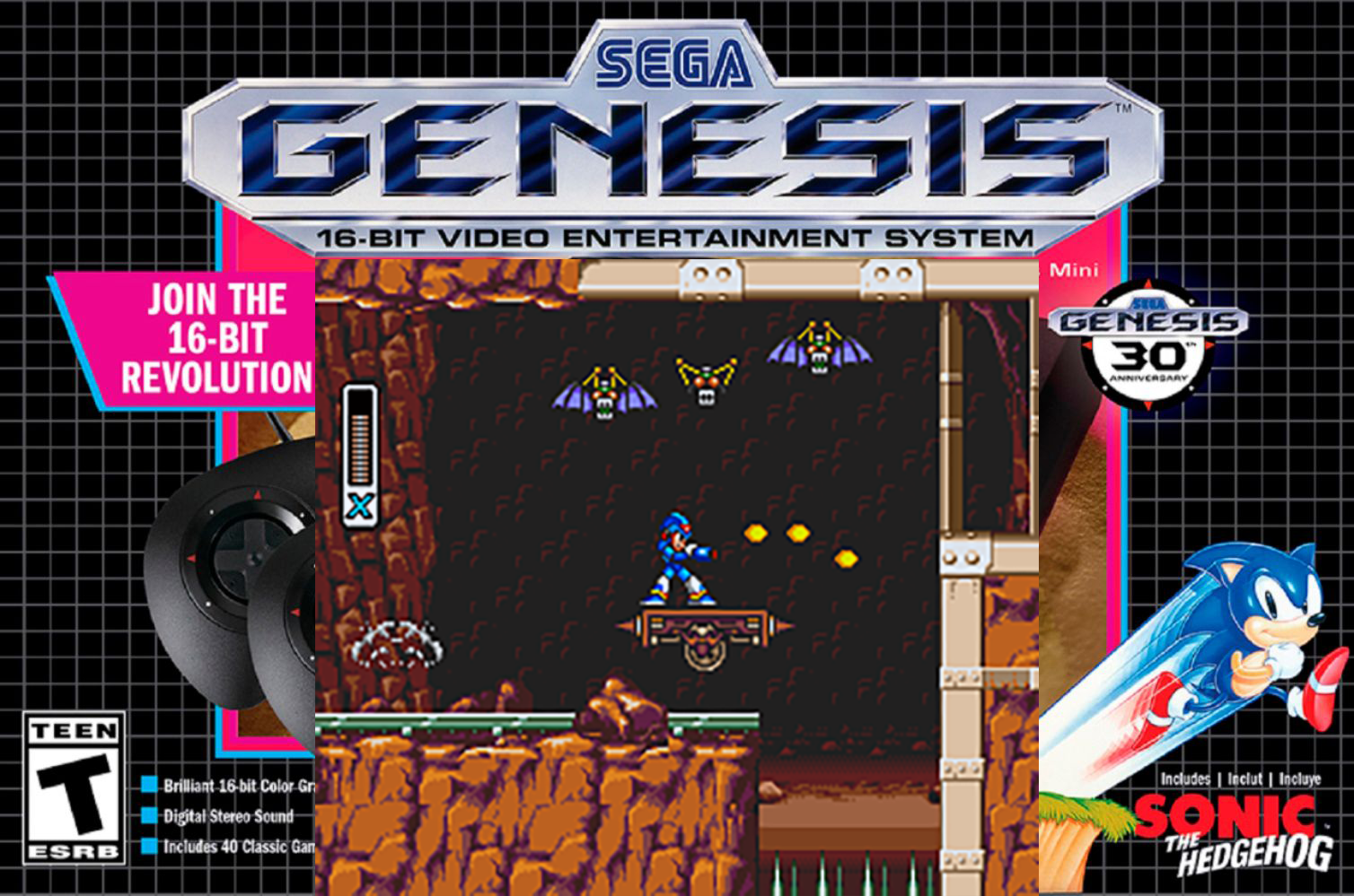 Unofficial Mega Man X port for the Genesis looks fantastic.