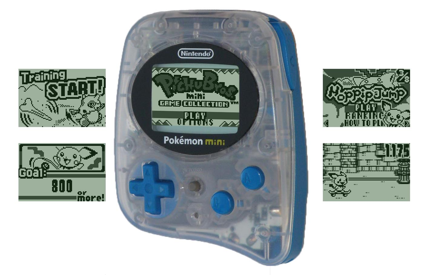 All Pokémon Mini Handheld Games Now Translated